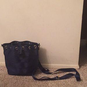 Real belt purse